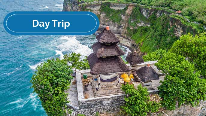 Full Day Uluwatu Temple with Kecak Dance
